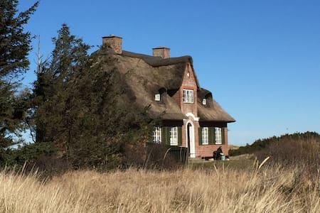 Classic beach villa 1st line to sea - Bindslev - House