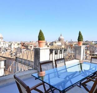 Farnese stunning penthouse - Roma - House