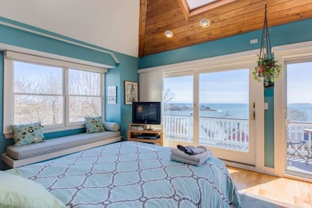 Romantic Ocean + Boston views! - Huis
