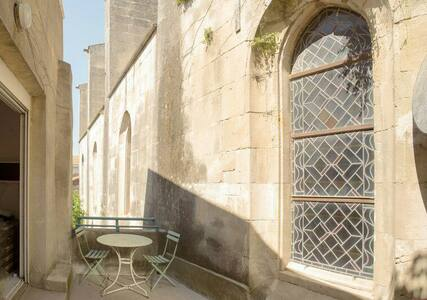 Studio avec terrasse centre ancien - Arles - Apartment