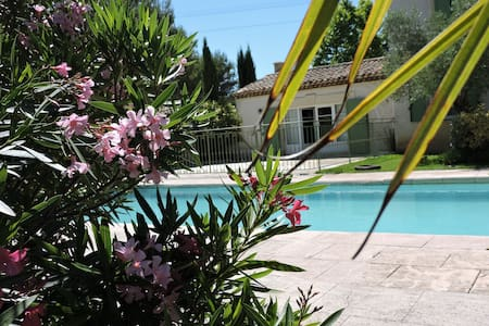 maison de caractère avec piscine - Saint-Maximin-la-Sainte-Baume - House