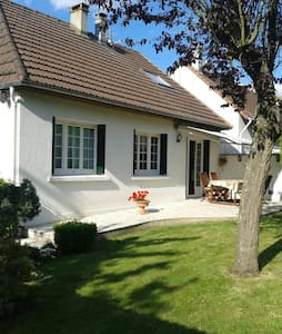 Private floor 60m2 - House 10km from Parc Asterix - Marly-la-ville - Casa