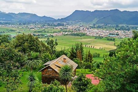 Cabaña Campestre, Tabio. Cundinamarca - Mökki