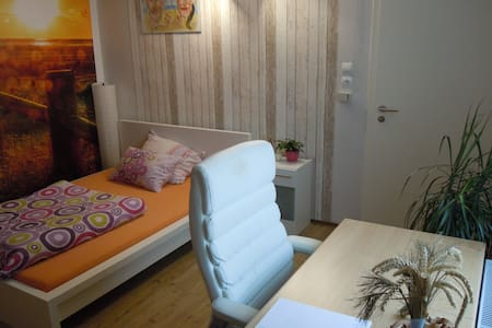 Comfortable room in center with kitchen, terrace - Geseke - Kondominium
