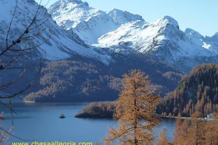 Fantastic Mountain view - Sils im Engadin/Segl - Appartement