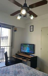Habitación Privada Frente Iluminada Cómoda Centro - Buenos Aires
