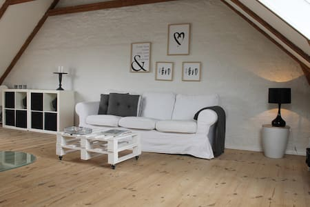 Cozy and central apartment close to HC Andersen - Odense - Daire