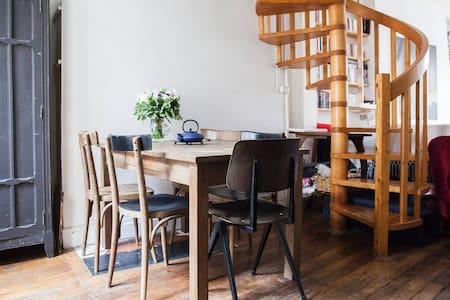 Charmant duplex ensoleillé - Paris - Wohnung