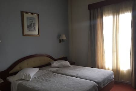 Twin room in the center of Delphi! - Delphi - Bed & Breakfast