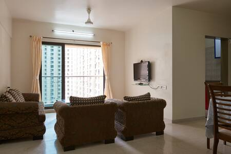 3BR Room -Luxury Service Apartment in Mumbai-Thane - Lakás