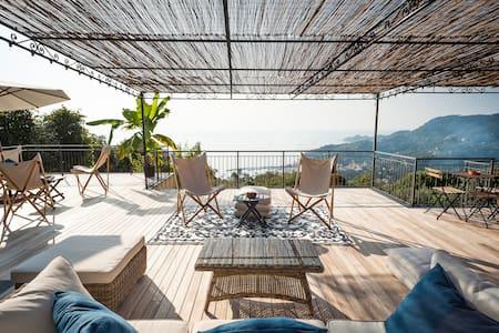 Villa con vista mozzafiato sul Golfo del Tigullio - Rapallo - Villa