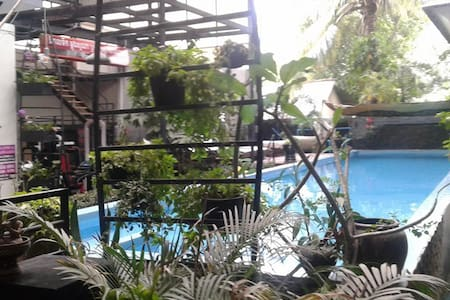 Studio apartment with pool, gym, sauna & jacuzzi - Krong Siem Reap