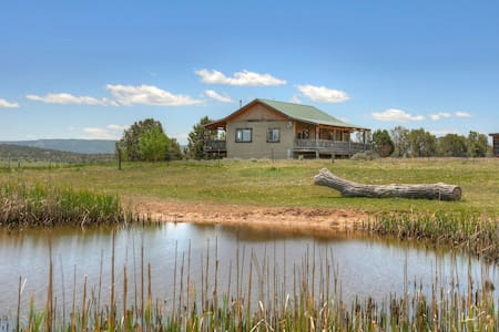 Rolling Hills Vacation Rental Cabin Durango Area - Hus