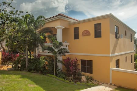 Boutique 2bdrm Suite on second floor in the hills of Puntas Rincon, apartment has pergola, terrace and plunge pool, located in cul-de-sac, dead end street  Common areas include pergola, Pool, garden, laundry, gardens  3-4 minute drive to Sandy beach