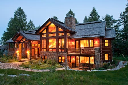 In the Village-High End Finishes-Private Hot Tub-Mountain Paradise-Perfection! - Teton Village - Maison