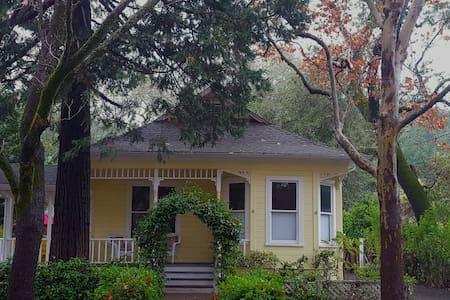Cedar Street Victorian - カリストガ - 一軒家