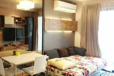 Cozy&Modern 1Bed, WiFi @ BTS Asoke - Bangkok - Apartment