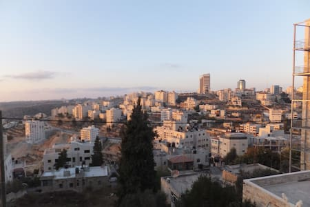 look out in Ramallah - رام الله