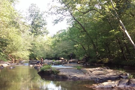 Wooded waterfront near LU, LC, RC & Sweet Briar - Madison Heights - Lakás