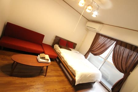 Popular relax room! Large kitchen! Nipponbashi5min - Osaka - Apartment