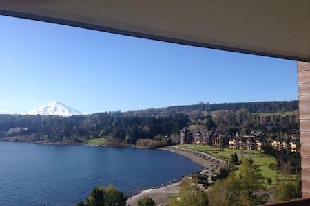 Lago Villarrica Espectacular Depto.  Puntilla***** - Lakás