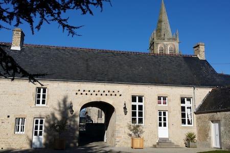 "B&B ""Clos du Mont""-Saint Côme du Mont, roomGarance - Inap sarapan"