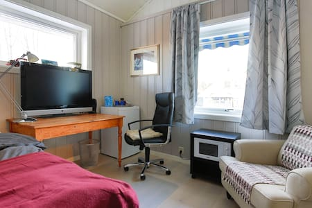 Very airy studio with amenities close to Oslo AP - Jessheim - House