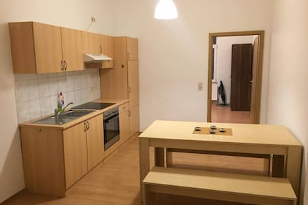 Möbilierte Wohnung in Wismar - Huoneisto