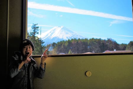 Amazing MountFuji & Japanese culture!!➀ - Fujiyoshida-shi - Chambres d'hôtes