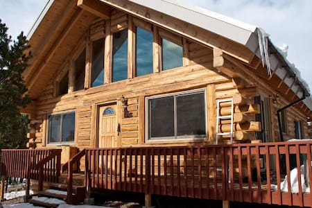 Real log cabin IN the mountains! - Kisház
