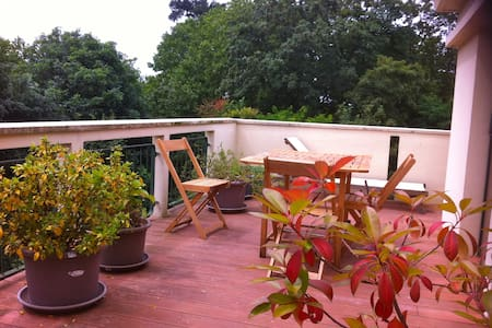 Appt 100 m2 + terrasse/balcon 40 m2 - Le Plessis-Bouchard - Apartamento