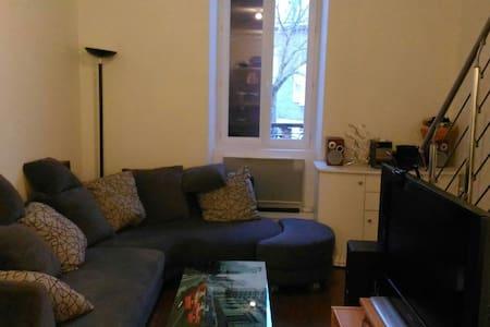F2 bis triplex centre chabeuil - Appartamento