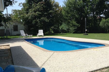 Swimming Pool near Beaches,  Relax Waveland Style - House