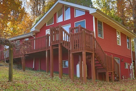 The Cantrell Cottage, views&nature - Hendersonville - Βίλα
