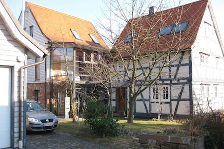 Fränkische Fachwerk Idylle am  Spessartrand - Krombach - Casa