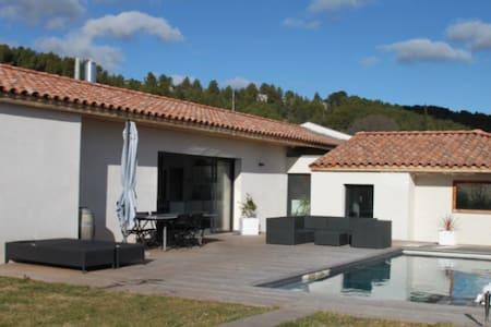 Belle villa plain pied à 5kms d'Aix - Meyreuil