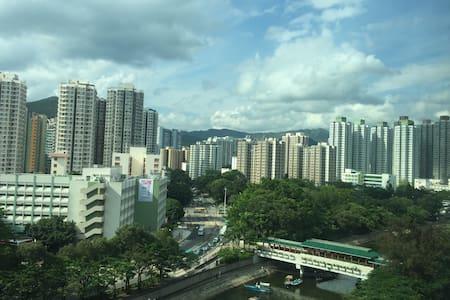 Cozy flat near taiwo mtr station - Wohnung