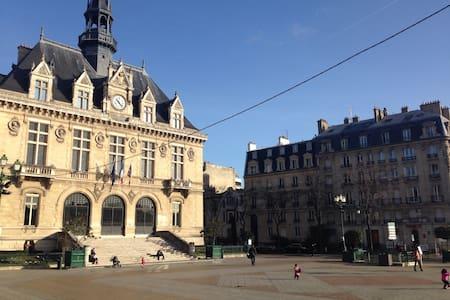 Belle chambre Vincennes Mairie - Apartment