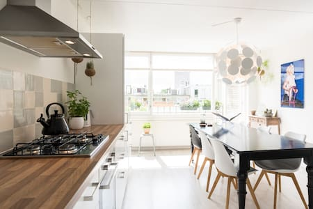 Renovated apt in AMS centre/de Pijp - Apartment