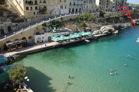 Ground floor Seaview Flat in Xlendi - Appartement