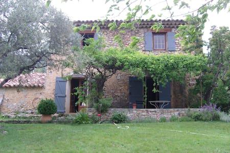 Old Provencal Farmhouse in Tourtour - House