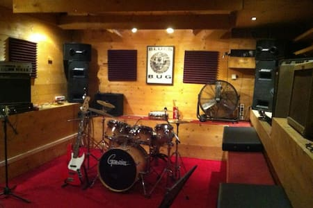 Funky Underground Rehearsal Studio.Fully equipped! - Annat