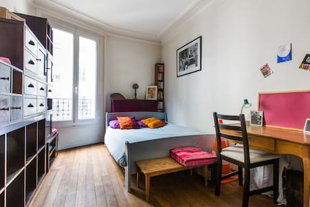 Bright Room in Friendly Flat ! - Lejlighed
