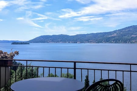 Beautiful view on Lake Maggiore - Verbania - Apartment