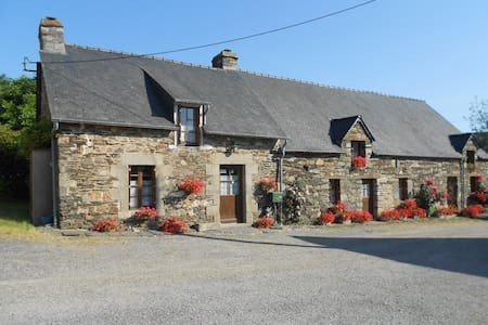 Maison en campgne - Mûr-de-Bretagne - Guesthouse