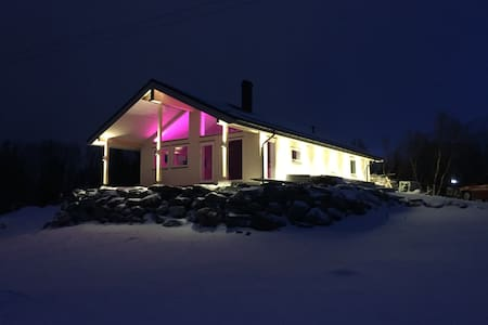 Cozy luxury house in midle of breathtaking nature - Brensholmen - Rumah