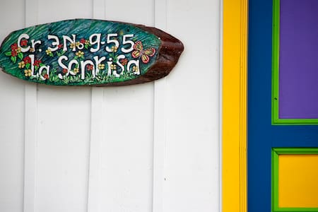 La Sonrisa_room1 - Salento - Blockhütte