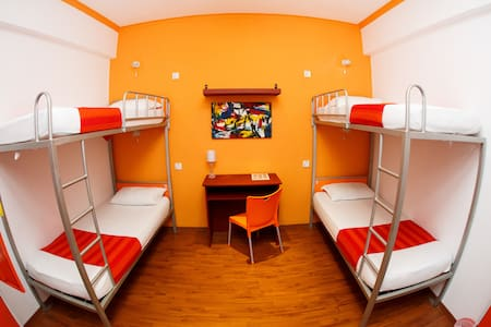 Quad Room @ CityRest Fort - Schlafsaal