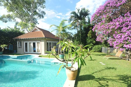 Self - Contained Cottage, Pool +Spa - Roseville - Pensione