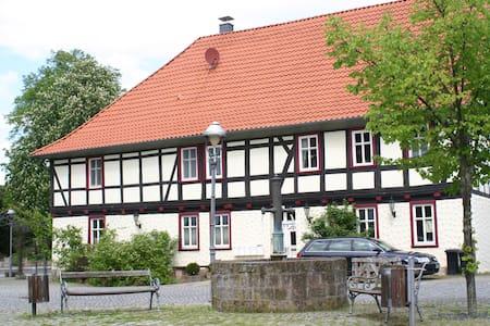 """Außergewöhnlich Ferienhaus """" Am Schloß """" Eichsfeld - Apartemen"""